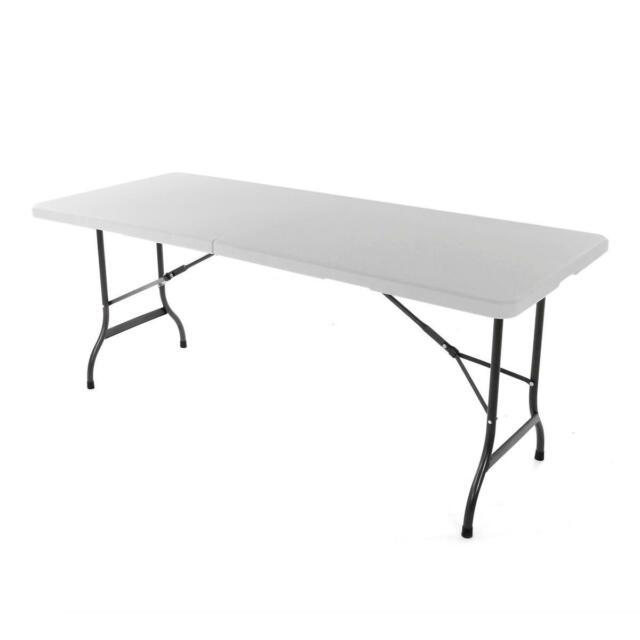 Tisch Klappbar Kunststoff.Klapptisch 183cm Tisch Klappbar Kunststoff Bierzelttisch Campingtisch Catering