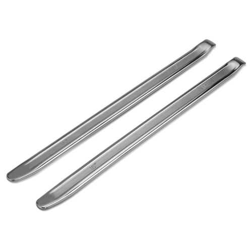 2Pcs Spoon Motorcycle Tire Lever Changer Rim Protector Tool Forged Steel 16 Inch