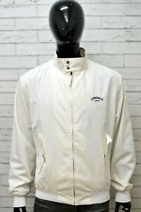 Giubbotto-LONSDALE-Parka-Uomo-Size-XXL-Giubbino-Jacket-Man-Giacca-Cotone-Bianco