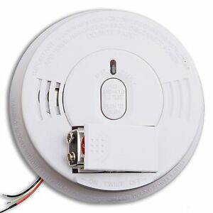 kidde i12060 smoke alarm 120v ac dc 21005927 hush w front load battery ebay. Black Bedroom Furniture Sets. Home Design Ideas