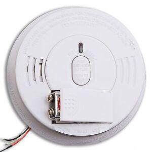 kidde i12060 smoke alarm 120v ac dc 21005927 hush w front load battery ebay. Black Bedroom Furniture Sets. Home Design Ideas