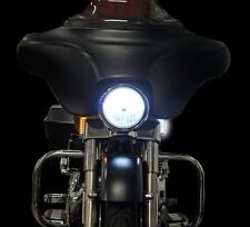 Dynamic Strips Amber/White Chrome Billet LED Turn Signals- Custom Dynamics
