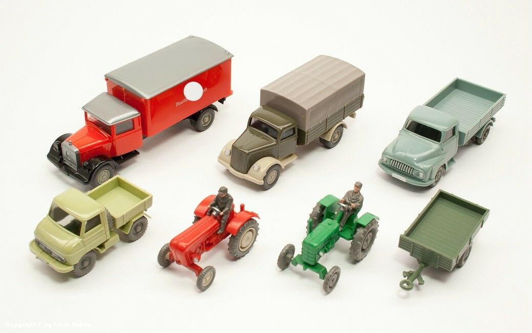 Wiking Collection 7 Models - 60er to 80er years