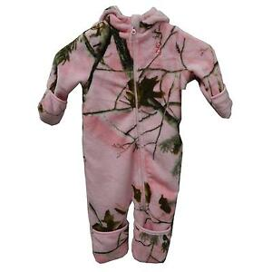 8494e4695 Image is loading REALTREE-PINK-CAMOUFLAGE-BUNTING-GIRLS-BABY-TODDLER-CAMO-