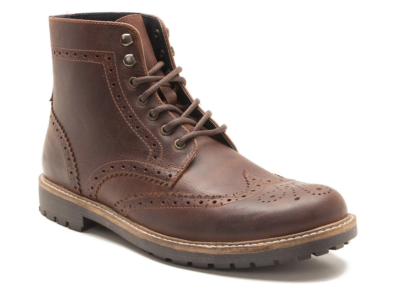 Red Tape Whitwell uomo legno marrone pelle stivali CALATA P! GRATIS UK P & P! CALATA 46cefb