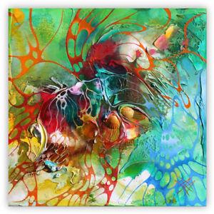 MODERNE-MALEREI-Strukturgemaelde-034-DREAM-HOLIDAY-034-Bild-Kunst-von-Bozena-Ossowski
