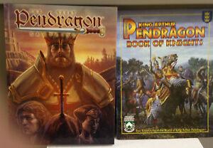 La Grande Pendragon Campaign Book & Livre Des Chevaliers-neuf-afficher Le Titre D'origine Dans Beaucoup De Styles