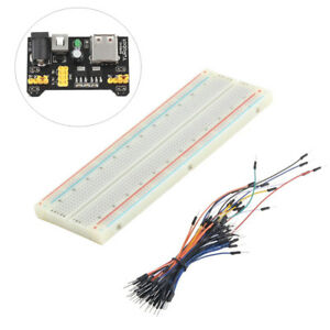 MB-102-Breadboard-Protoboard-830-Points-2-buses-Test-Schaltung-AIP
