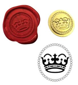 Royal Crown Royalty Wax Stamp Seal Starter Kit Or Buy Coin Only Xws039b Xwsc354 Ebay