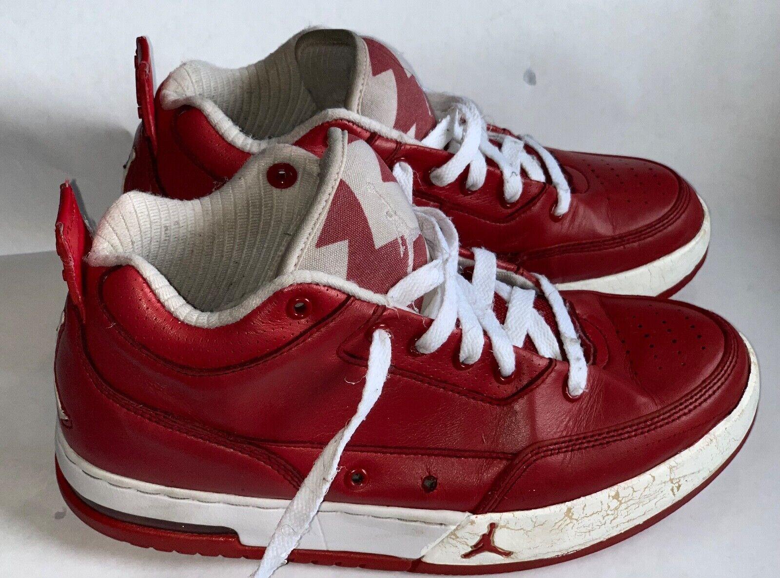 Air Jordan Flipsyde Varsity Red   White Men's 7.5 323100-601 Gym Retro VG 2010