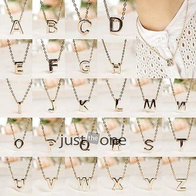 Fashion Women Men Unisex English Letters Alphabet Words Style Pendant Necklace