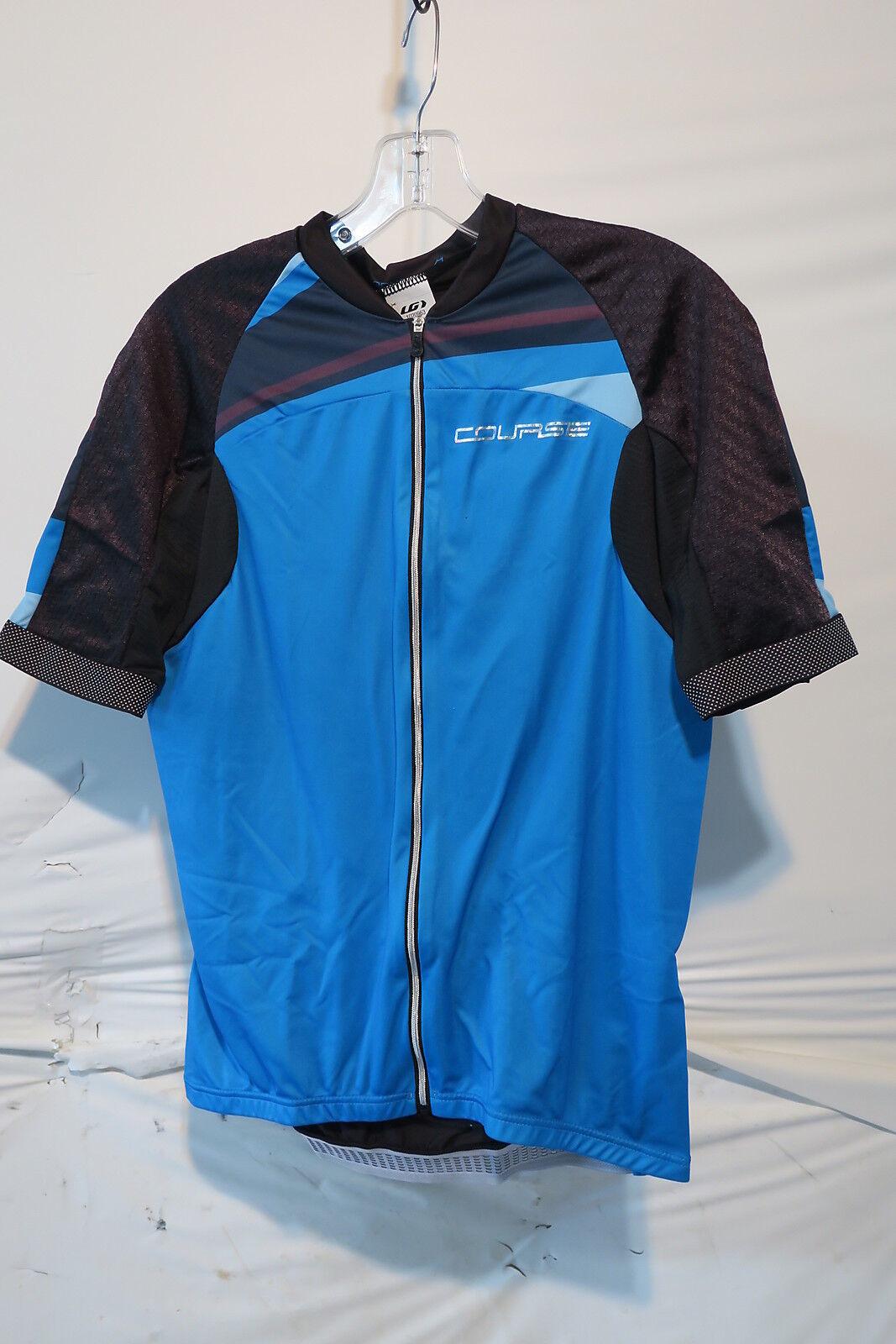 Louis Garneau Elite M-2 Cycling Jersey Men's Large Course bluee Retail  149.99