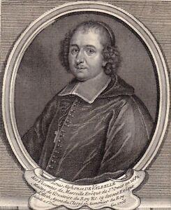 Portrait-XVIIIe-Louis-Alphonse-de-Valbelle-Monfuron-Eveque-St-Omer-Fenelon-1750