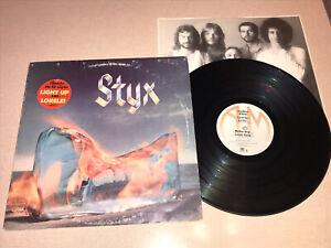 STYX Equinox 1975 LP w/ Lorelei Hype Sticker VG/VG A&M SP-4559 Dennis DeYoung