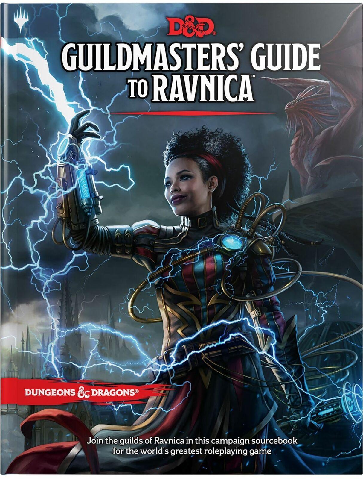 Dungeons & Dragons  guildmasters Guide to Ravnica (AVVENTURA & impostazione campagna)  grande sconto
