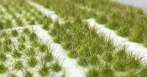 Miniature Model Self Adhesive Static Tufts Wild Spring Grass 6mm Army Pack