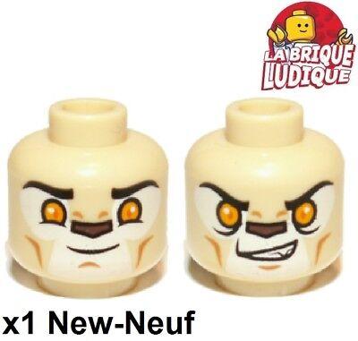 1272 # Lego COUVERCLE TETE couverture Chapeau Rond 3x3 New Gris
