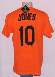 new product e376d 97138 Details about Adam Jones Baltimore Orioles Jersey T-Shirt Orange - MLB