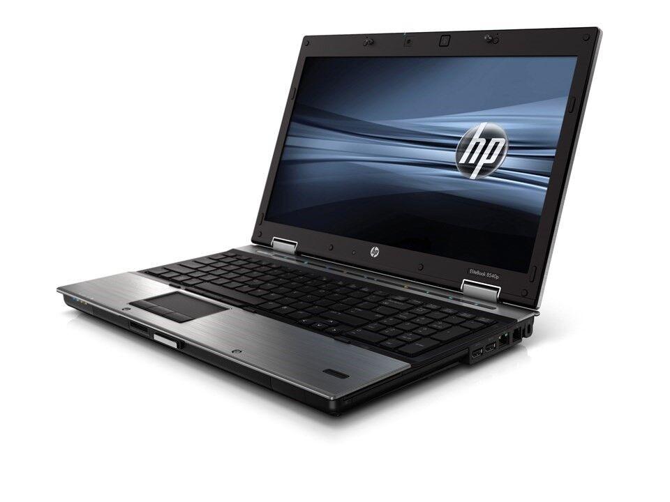 HP Elitebook 8540p, i5 CPU GHz, 6 GB ram