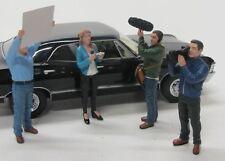 4 x Figuren ( Kamera Film Crew ) American Diorama 1:24