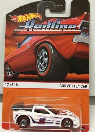 Hot Wheels Redline Die-cast Metal Corvette C6R  New