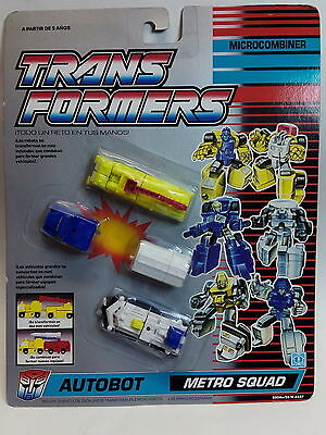 TRANSFORMERS Microcombiner - Autobot- METRO SQUAD  *** NEW****
