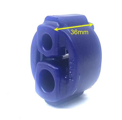 Superpro 2x SPF2435K polyuréthane Échappement Universel Support Caoutchouc Cintre Support