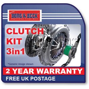 Borg-amp-Beck-HK6265-Kit-de-embrague-3-en-1-se-ajusta-a-Renault-Clio-Kangoo-Megane