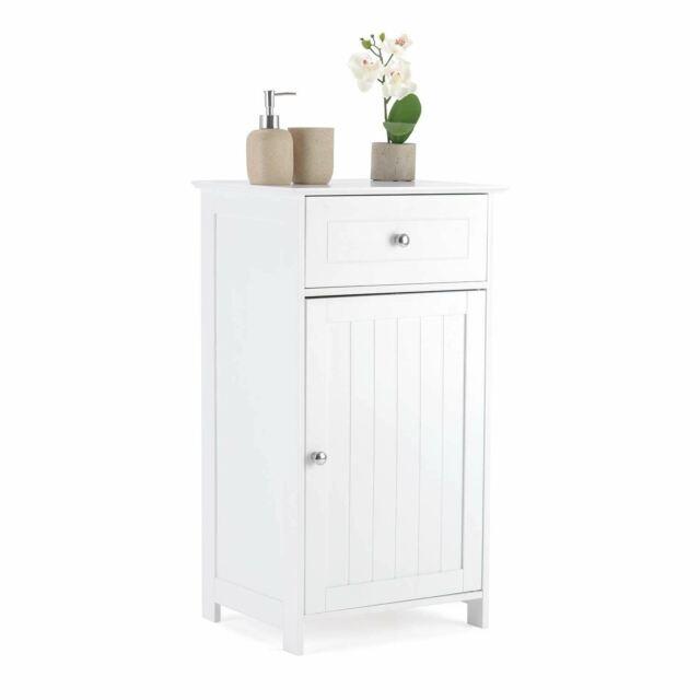 Door Bathroom Floor Cabinet