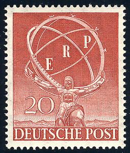 BERLIN-1950-MiNr-71-postfrisches-Kabinettstueck-Mi-100