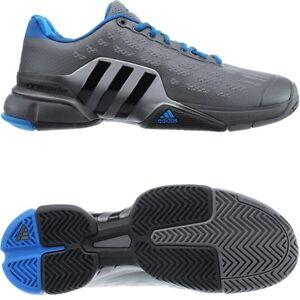Tennisschuhe Adidas 2016 Indoor metallic NEU Details Allcourt Barricade Herren blau about grau Yv7ybgf6