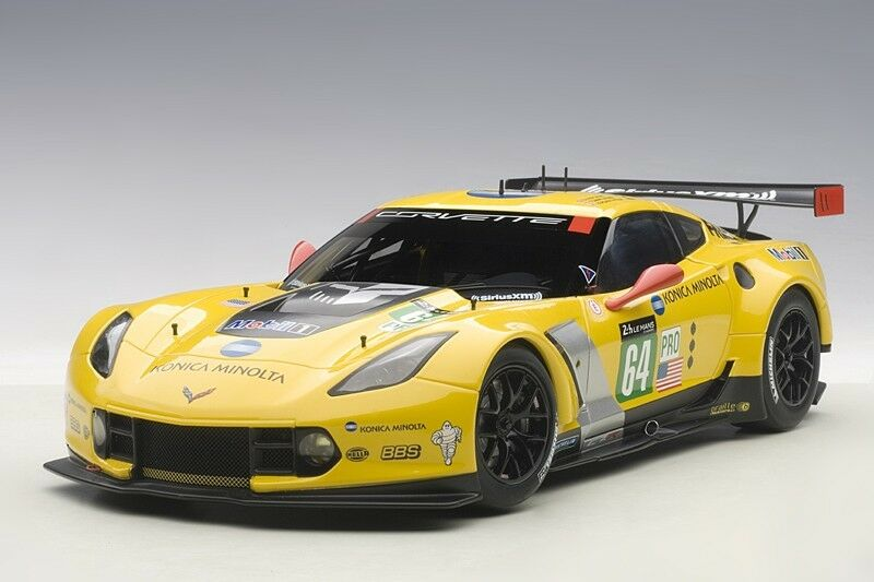 CHEVROLET CORVETTE C7R LE MANS 24HRS GTLM 2015 WINNER  64 1 18 by AUTOart 81504