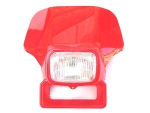 Honda-XR200-XR250-XR350-XR500-XR600-Red-XR-XL-200-250-350-500-600-Headlight