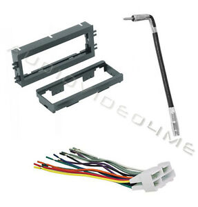 new stereo dash install kit 91 04 chevrolet gmc wiring harness