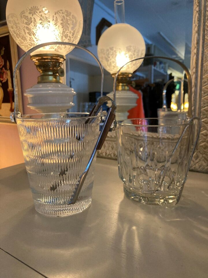 Glas isspand