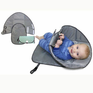 Clean-Hands-Changing-Pad-Portable-Baby-3in1-Cover-Mat-Folding-Diaper-Bag-Kit-NEW