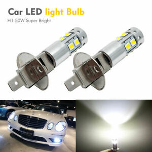 2x-H1-6000K-Super-White-100W-CREE-LED-Headlight-Bulbs-Kit-Fog-Driving-Light