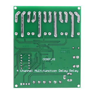 Switch-Relay-DC-4-Channel-Multifunction-Delay-Time-Timer-Relay-Switch-Module