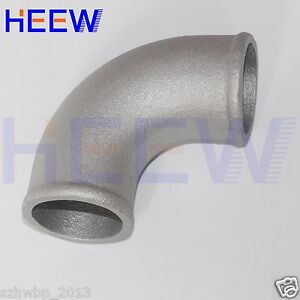 "51mm 2/""  90° Bend Intercooler Turbo Cast Aluminum Pipe Joiner Elbow Pipe"