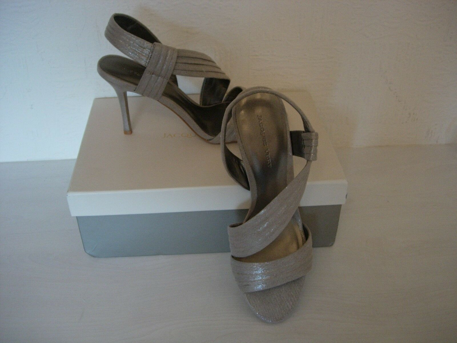 JACQUES -NEW Grün METALLIC schuhe SANDALS -NEUTRAL Größe 6 -NEW JACQUES 60ecac
