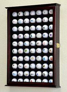 Image Is Loading PGA 70 Golf Ball Display Case Cabinet Wall