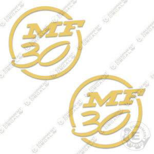 Massey-Ferguson-30-Decal-Kit-Tractor-Lawn-Mower-Equipment-Decals