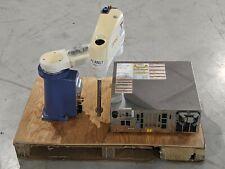 Denso Hs 45552m Scara Robot 410500 0840 With Rc7m Hsg4ba Bp Controller