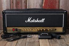 Marshall DSL100H Electric Guitar Amplifier Head 100 Watt Tube Amp w Footswitch
