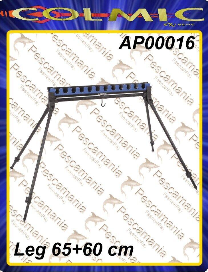 Appoggia Kit 12 posti easy con gambe e battuta posteriore Colmic 6560cm