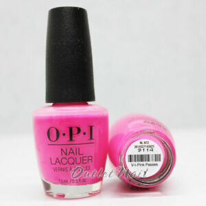 OPI-Nail-Lacquer-NL-N72-V-I-Pink-Passes-NLN72-Spring-Summer-2019-Neon-Collection