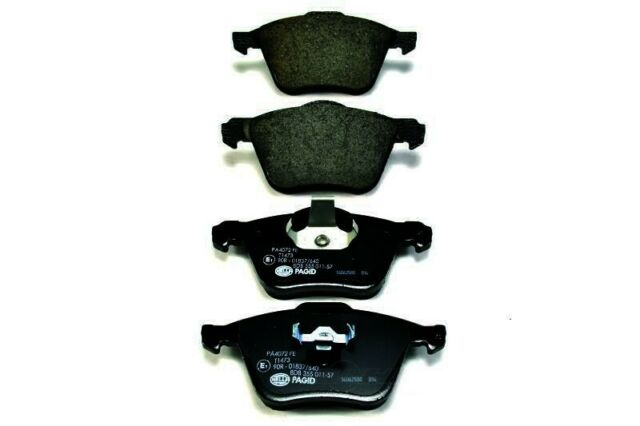 OE Formulated Friction Material Front Hella-PAGID Disc Brake Pad Set-OEM