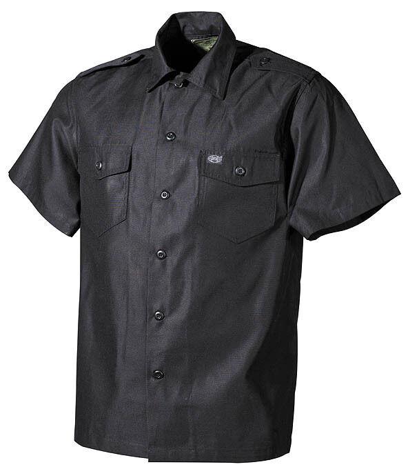 MFH Men's shirts short sleeves military man US Shirt short sleeves 02712A