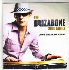 (CH289) Drizabone Soul Family, Don't Break My Heart - 2010 DJ CD