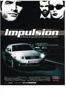 PUBLICITE-ADVERTISING-2003-AUDI-A3-IMPULSION